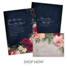 Cheap Wedding Invitations With Free Rsvp Cards
