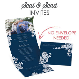 seal and send wedding invitations | ann's bridal bargains, Wedding invitations