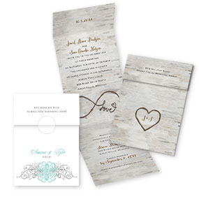 Wedding Invitations With Online Reply