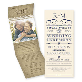 Invitations under $1.00 each