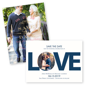 Save the Dates under $.99 each