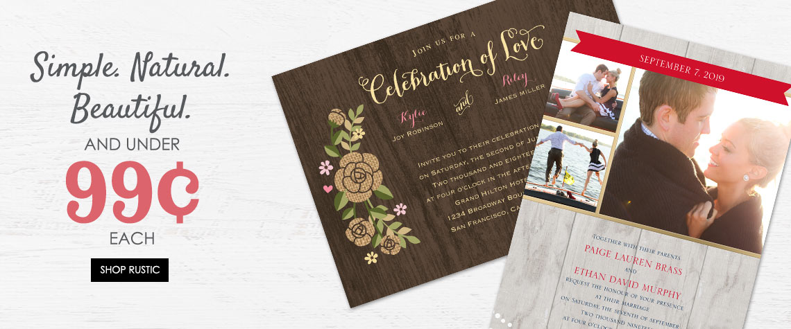 Wedding Invitation Themes