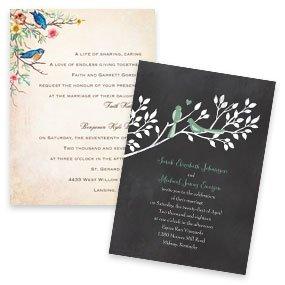 wedding invitation themes ann s bridal bargains