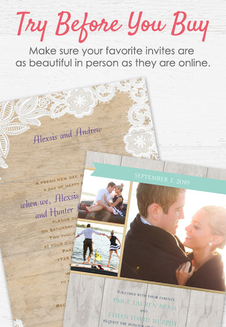 Wedding Invitations Samples Hero