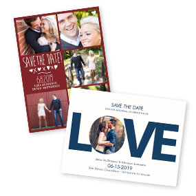 Romantic Save The Dates