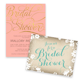 Bridal Shower Invitations Anns Bridal Bargains