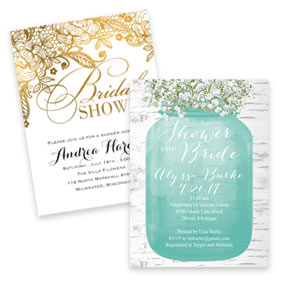 Magnet Bridal Shower Invitations