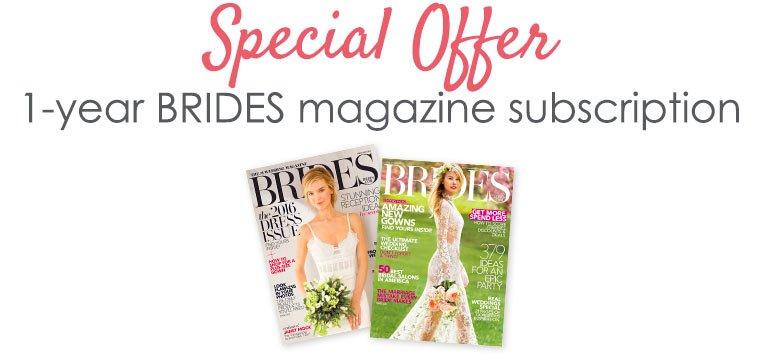 Brides Magazine Special Offer
