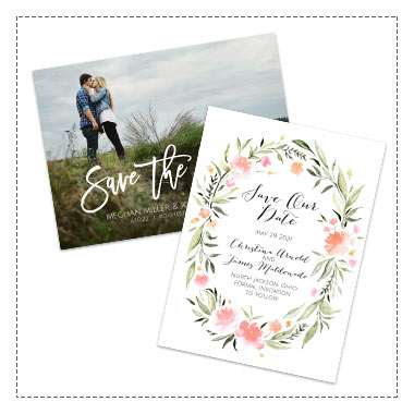 25% off Wedding Save the Dates