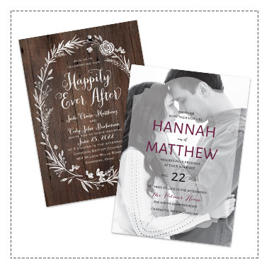 25% off Wedding Invitations