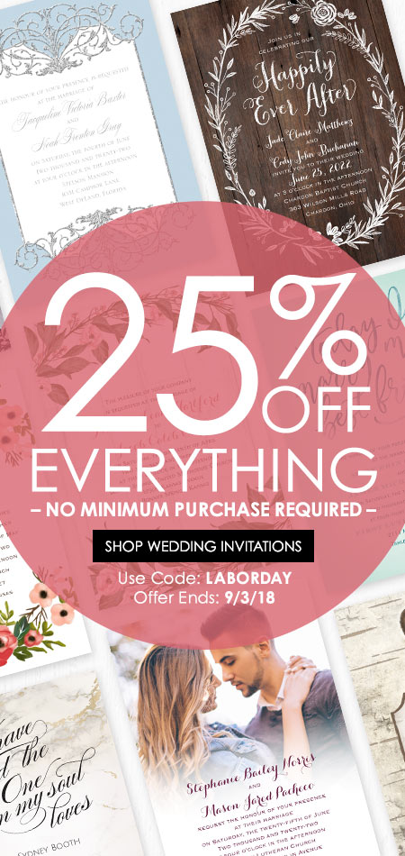 cheap wedding invitations ann s bridal bargains