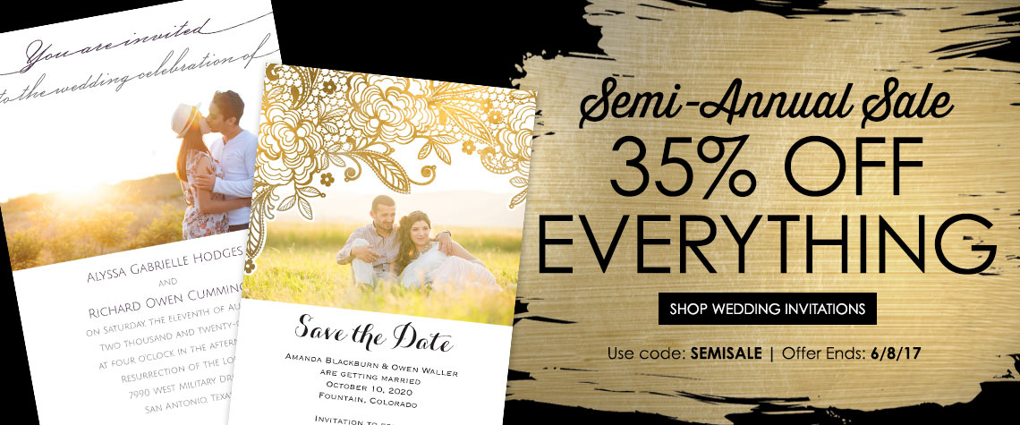 cheap wedding invitations & wedding invites   ann's bridal bargains, Wedding invitations