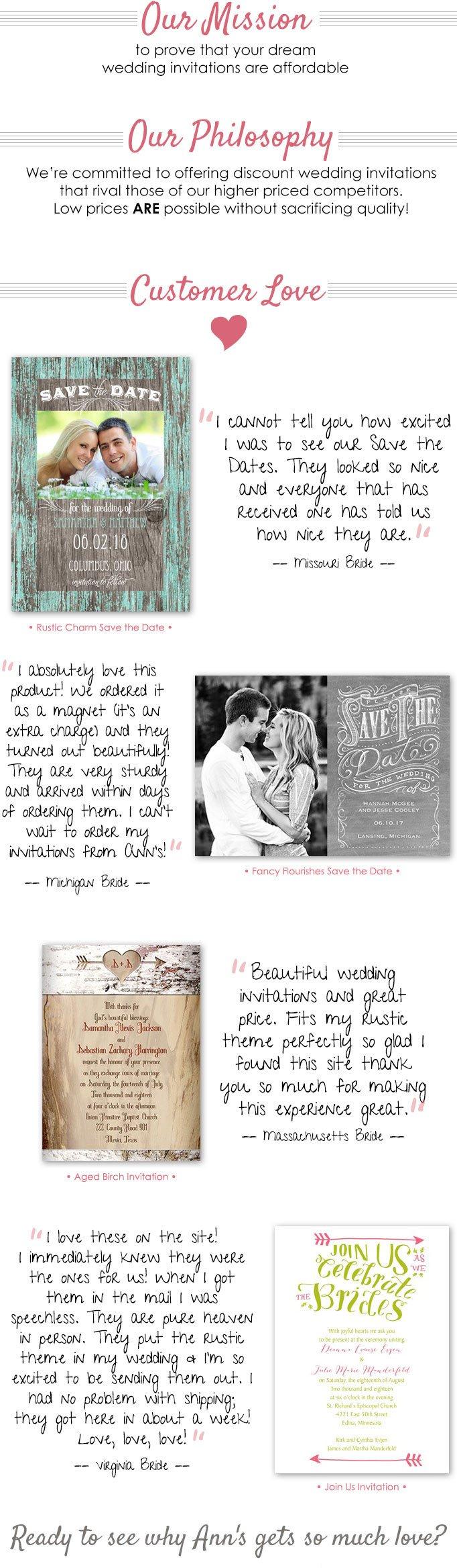 About Ann's Bridal Bargains.