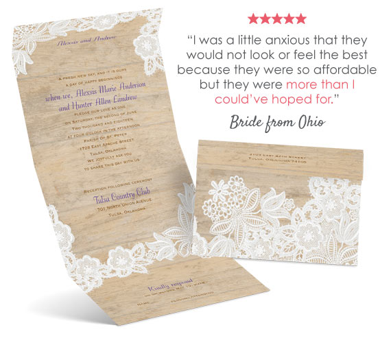 Ordering Wedding Invitations Online Is No Diffe Than Purchasing Any Other Product We Highly Encourage Reading Customer Testimonials And Reviews Of Our
