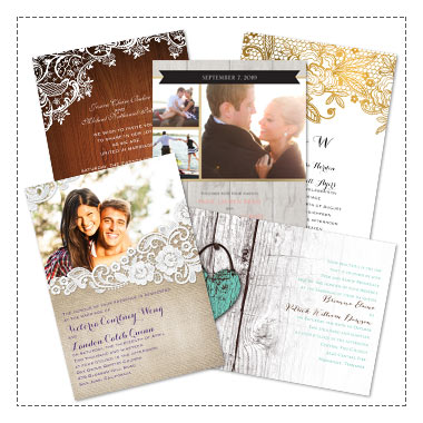 5% off Wedding Invitations and Save the Dates - Use Code: INVITED