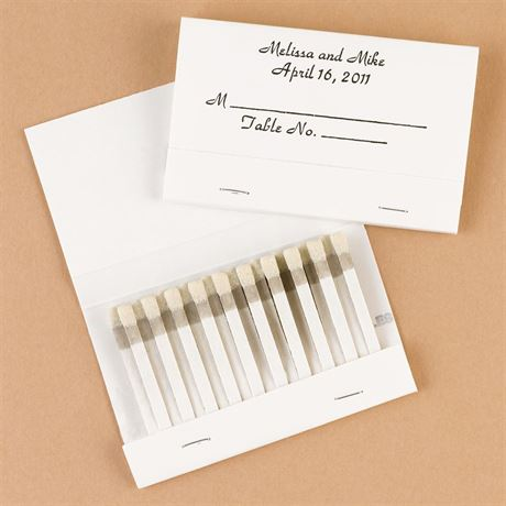 Matchbooks Place Card