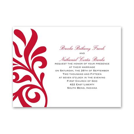Flair for Style  Petite Invitation