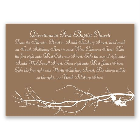 Boughs and Branches  Map Card