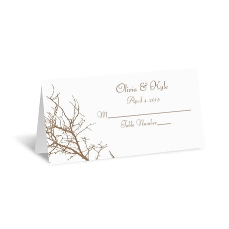 Boughs and Branches  Place Card