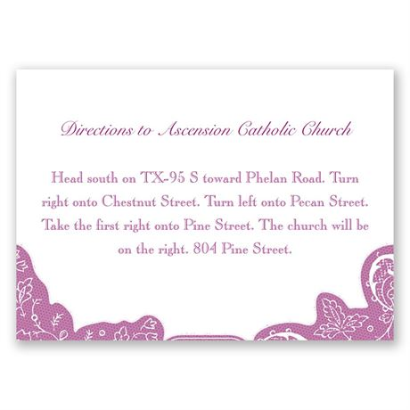 Romantic Details  Map Card