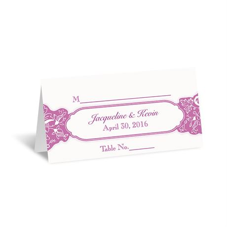 Romantic Details  Place Card