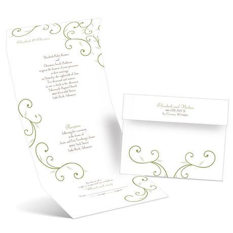Budding Beauties - Seal and Send Invitation