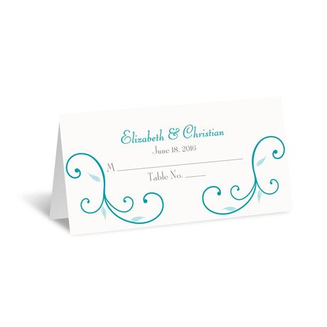 Budding Beauty  Place Card