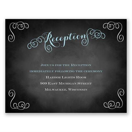 Most Special Day  Reception Card