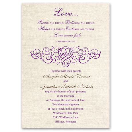 Rustic Love - Invitation