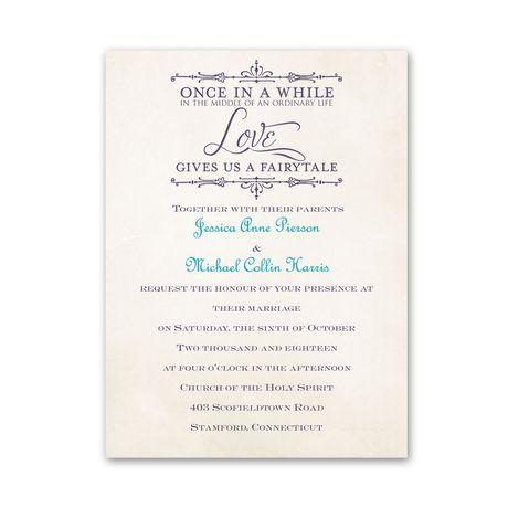 Charmed  Petite Invitation