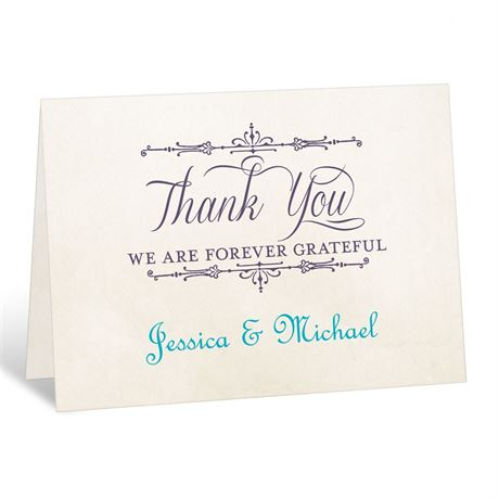 Charmed  Thank You Card