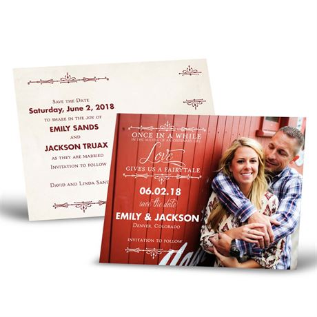 Charmed  Save the Date Postcard