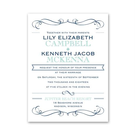 Exhilarating  Petite Invitation