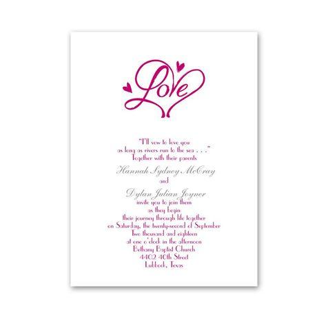 Pure Love  Petite Invitation