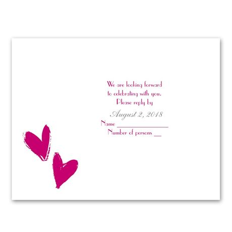 Pure Love  Response Card
