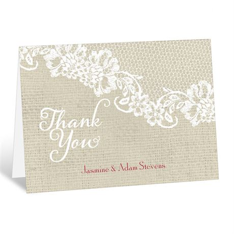 Country Details  Thank You Card