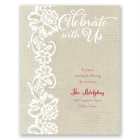 Country Details  Reception Card