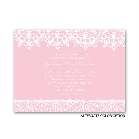 Exotic Lace - Petite Invitation