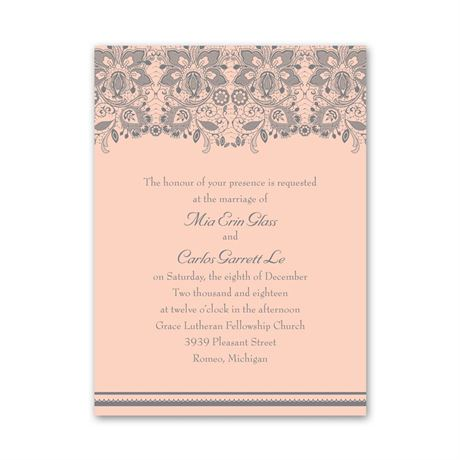Lacy Romance  Petite Invitation
