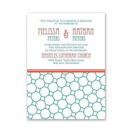 Chic Patterns  Petite Invitation