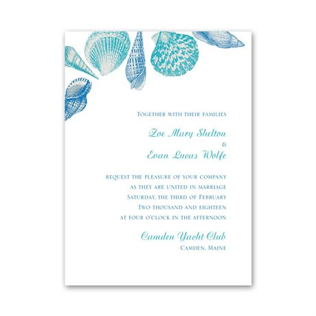 Sea Love  Petite Invitation