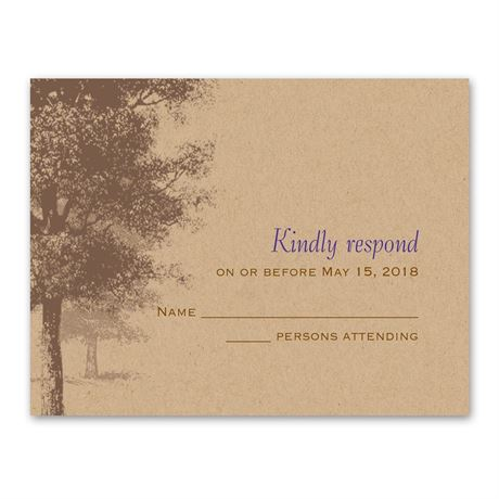 Country Roots  Response Card