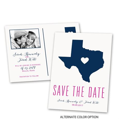 State of Love - Save the Date Postcard