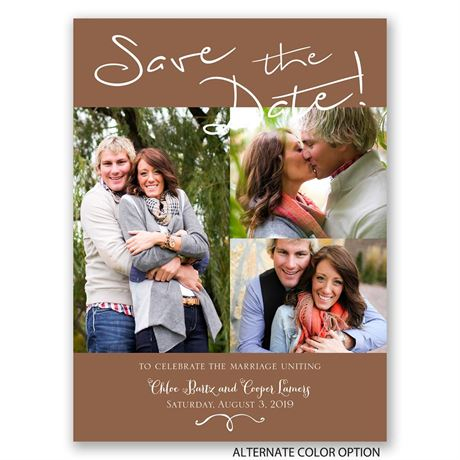 Take Note - Save the Date Card