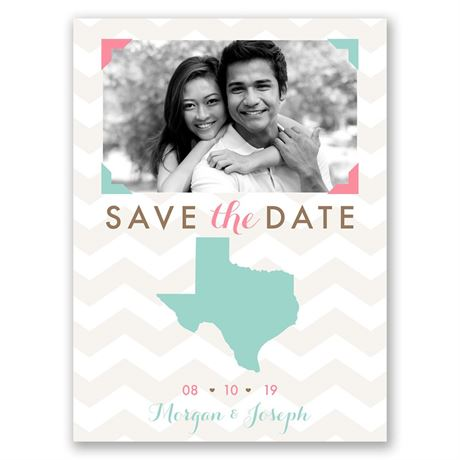 Well Stated  Save the Date Card
