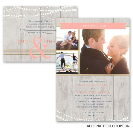 Country Lights - All in One Invitation