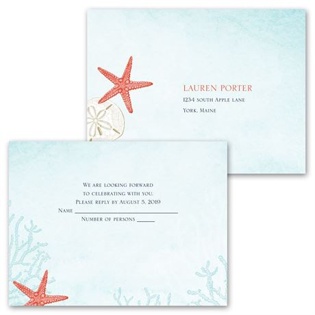 Ocean Adventure - All in One Invitation