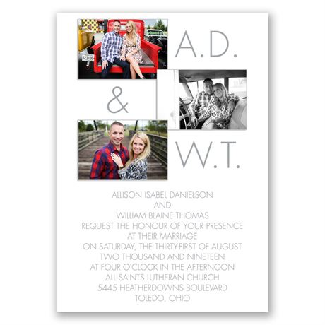 Photo Favorites - All in One Invitation