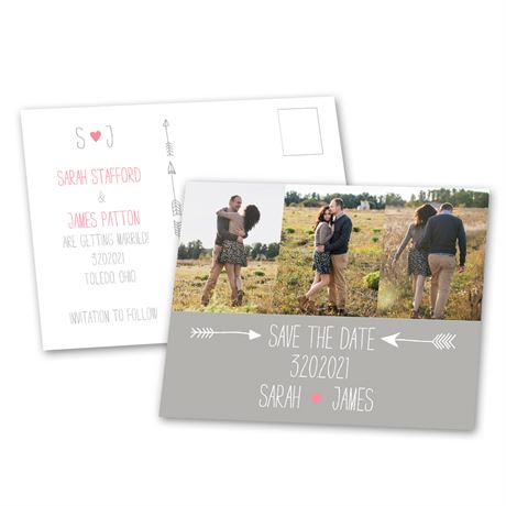 "Cupid""s Touch - Save the Date Postcard"