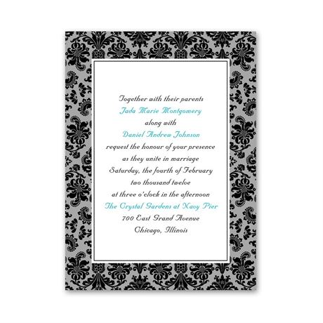 Clearly Refined  Petite Invitation